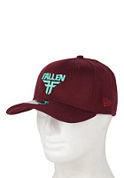 FALLEN Insignia Stretch Fit Cap cordovan/mineral