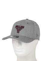 FALLEN Insignia Stretch Fit Cap heather grey/black plum