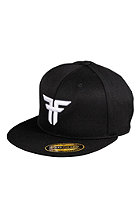 FALLEN Trademark 210 Fitted Flex Cap black/white