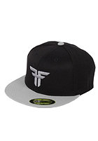 FALLEN Trademark 210 Flex Fit Cap black/grey