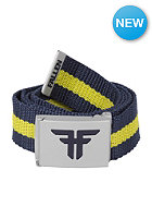 FALLEN Trademark Nylon Belt midnight blue/fluro yellow