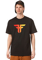 FALLEN Trademark S/S T-Shirt black/red fade