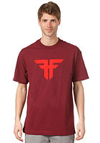FALLEN Trademark S/S T-Shirt cordovan/blood red