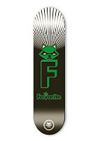 FAVORITE Racoon Limited Edition Skateboard black/green 7.75