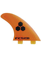 FCS AM-2 PC Tri Fin Set orange