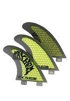 FCS GMB-5 Performance Core Tri Fin Set L green
