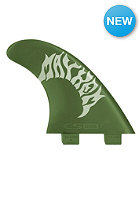 FCS GMB Natural Green Flex Tri Fin Set one color