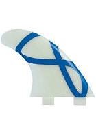 FCS M-5 Glass Flex Tri Fin Set M glass