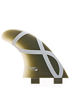 FCS M3 IFT Flex Tri Fin Set green