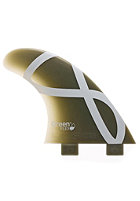 FCS M5 IFT Flex Tri Fin Set green