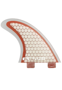 FCS PC-3 Performance Core Fin Set S red/clear