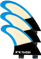 FCS PC-5 Bamboo Tri Fin Set M blue