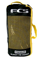 FCS Premium Bungy Lockable Tie Downs one color