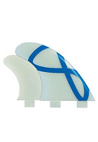 FCS Q-5Xc Quad Fin Set one colour