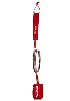 FCS Regular Leash 7' red