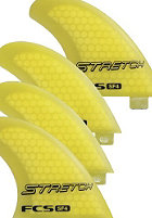 FCS SF4L Stretch Performance Core Quad Set L yellow