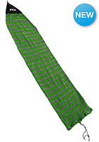 FCS Stretch Short Board 6�7 Sleeve green stripe