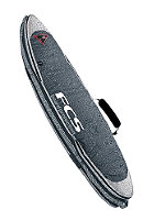 FCS Triple Travel Cover Short Boardbag 6'3 grey