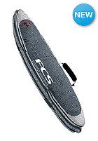 FCS Triple Travel Cover Short Boardbag 6'3 grey
