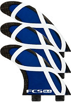 FCS UL-5 Tri Fin Set M black/blue