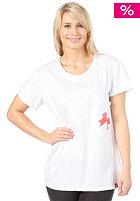 FEMI PLEASURE Amisu S/S T-Shirt bright white