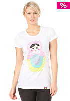 FEMI PLEASURE Koka S/S T-Shirt bright white