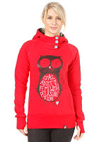 FEMI PLEASURE Owl Hooded Sweat ketchup