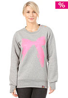 FEMI PLEASURE Rosalia Sweat ash grey melange
