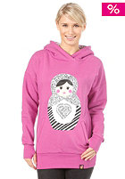 FEMI PLEASURE Zuza Hooded Sweat candy pink