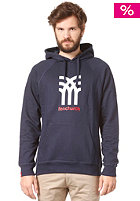 FENCHURCH Icon Hooded Sweat blackberry blue/white/red