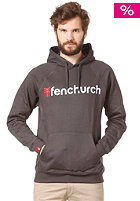 FENCHURCH Word Hooded Sweat grey/red/white