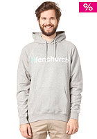 FENCHURCH Word Hooded Sweat grey/turquoise/white