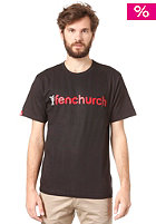 FENCHURCH Word S/S T-Shirt black/grey/red
