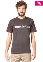 FENCHURCH Word S/S T-Shirt grey/red/white