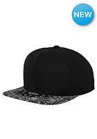 FLEXFIT Bandana Snapback Cap blk/blk