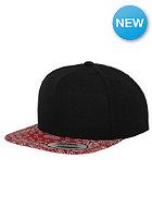 FLEXFIT Bandana Snapback Cap blk/red