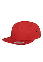 FLEXFIT Classic Jockey 5 Panel Cap red