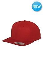 FLEXFIT Classic Snapback Cap red