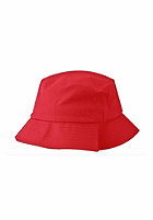 FLEXFIT Flexfit Cotton Twill Bucket Hat red