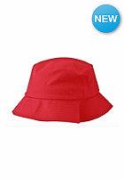 FLEXFIT Flexfit Cotton Twill Bucket Hat red