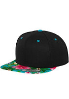 FLEXFIT Hawaiian blk/aqua