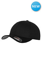 FLEXFIT Kids Wooly Combed Flexfit Cap black