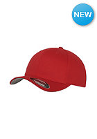 FLEXFIT Kids Wooly Combed red