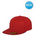 FLEXFIT Premium 210 Fitted Cap red