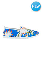 FLOSSY Special Blue Flower blanco-tuquesa / white-blue
