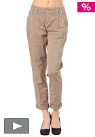 FORNARINA Womens Jasmine Stretch Cotton Pant camel 