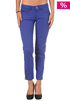 FORNARINA Womens Naomi Bis Stretch Cotton Pant royal
