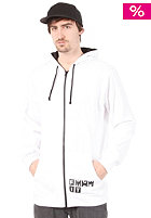 FORUM  F It Basic Hooded Zip Sweat white
