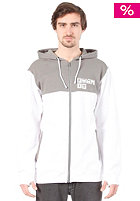 FORUM  F It Premium Hooded Zip Sweat white