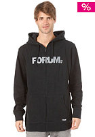 FORUM Werdmark Hooded Zip Sweat oil spill